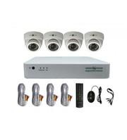 Комплект Відеоспостереження Green Vision GV-K-G01/04 720Р